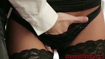 Bureau baise chatte gratuit chaud Latina MILF porno